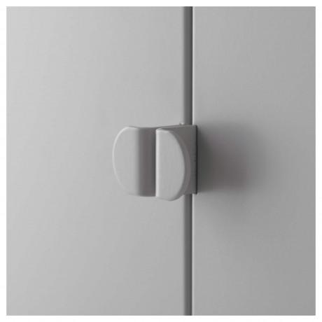 Шкаф ЛИКСГУЛЬТ металлический, серый фото 2