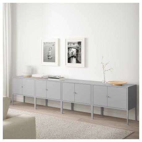 Комбинация шкафов ЛИКСГУЛЬТ серый фото 1