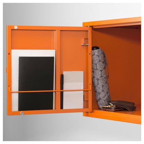 Шкаф ЛИКСГУЛЬТ металлический, темно-зеленый фото 2