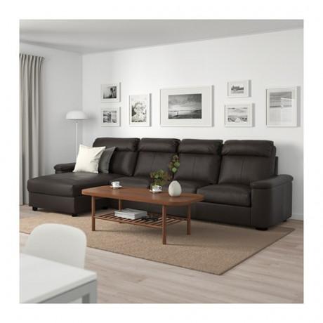 4-местный диван ЛИДГУЛЬТ темно-коричневый фото 1
