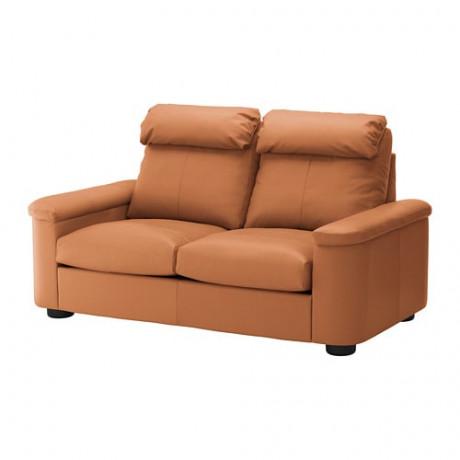 2-местный диван-кровать ЛИДГУЛЬТ Гранн/Бумстад золотисто-коричневый фото 0