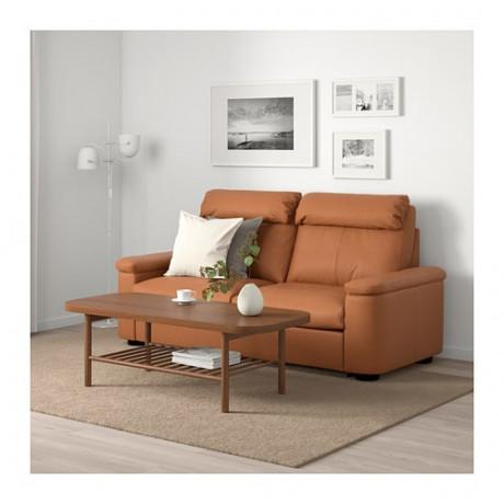 2-местный диван-кровать ЛИДГУЛЬТ Гранн/Бумстад золотисто-коричневый фото 1