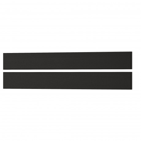 Фронтальная панель ящика ЛЕРХЮТТАН черная морилка фото 8