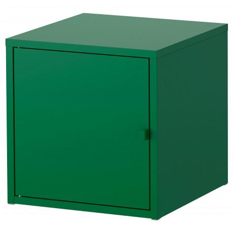 Шкаф ЛИКСГУЛЬТ металлический, темно-зеленый фото 4