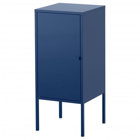 Шкаф ЛИКСГУЛЬТ металлический, темно-синий фото 4