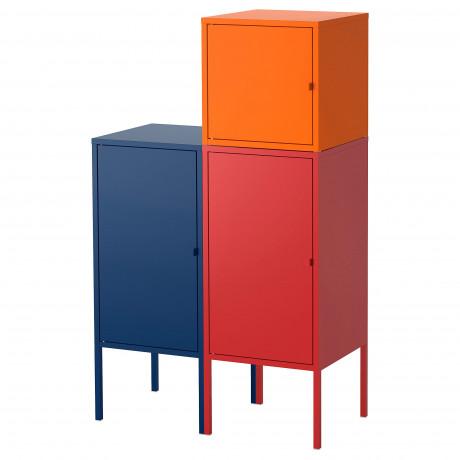 Комбинация д/хранения ЛИКСГУЛЬТ темно-синий, красный/оранжевый фото 4