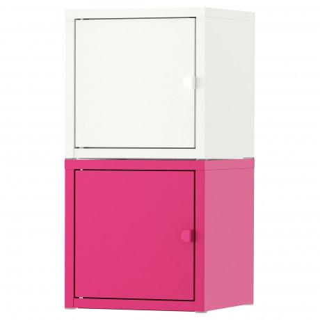 Комбинация д/хранения ЛИКСГУЛЬТ белый, розовый фото 4